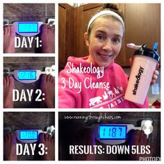 Shakeology 3 Day Cleanse - RESULTS!