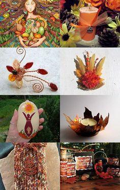 Magical Mabon offerings on Etsy- Autumn delights!! Mabon, Samhain, Autumnal Equinox, Vernal Equinox, Nature Witch, Pagan Festivals, Sabbats, Autumn Crafts, Beltane