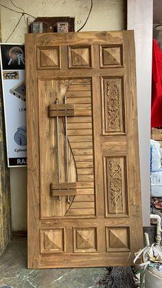 Single Main Door Designs, House Main Door Design, Flush Door Design, Main Entrance Door Design, Wooden Front Door Design, Pooja Room Door Design, Door Gate Design, Wooden Front Doors, Door Design Interior