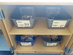 Thinking and Learning in Room 'Room 122 Science Lab' Environmental Print, How To Make Signs, Dramatic Play Centers, Play Centre, Plastic Laundry Basket, Lab, Science, Learning, Room