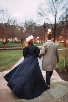 Custom Satin Bridal Overcoat –Ciara –by Jill Andrews Gowns