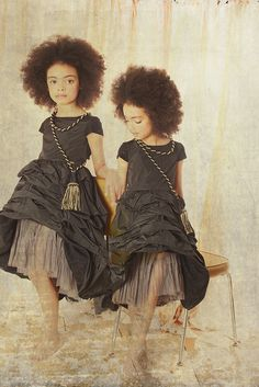 Dresses by Jean Paul Gaultier ~ by Malin Ngoie for summer13 ~ such a gorgeous photo shoot x
