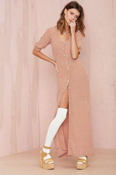 For Love and Lemons Montana Maxi Dress - Clothes