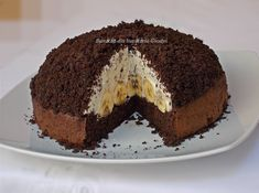 Ricotta, Kiwi, Tiramisu, Chocolate, Ethnic Recipes, Desserts, Food, Banana, Biscuits