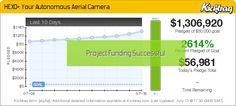 HEXO+: Your Autonomous Aerial Camera -- Kicktraq Mini