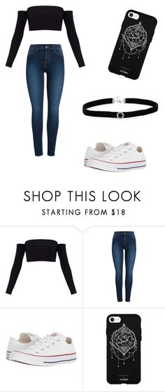 """""""No name#63"""" by kyley-mays on Polyvore featuring Pieces, Converse, Fifth & Ninth and BillyTheTree"""