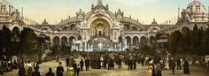 ... Chateau_deau_and_plaza_Exposition_Universal_