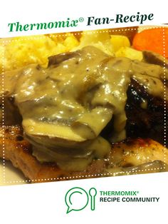 Mushroom Sauce by Melinda Hutchison. A Thermomix <sup>®</sup> recipe in the category Sauces, dips & spreads on www.recipecommunity.com.au, the Thermomix <sup>®</sup> Community.