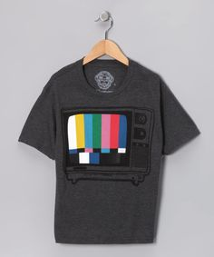 Take a look at this Charcoal Off-Air Tee by AMES BROS on #zulily today!