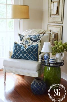 5 EASY WAYS TO BREATHE NEW LIFE INTO A ROOM- easy and doable decorating-stonegableblog.com