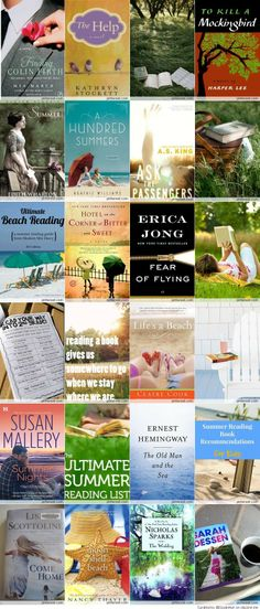 Great Summer Books & Reading Lists