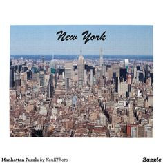 Manhattan Puzzle- A spectacular view of the heart of NYC!
