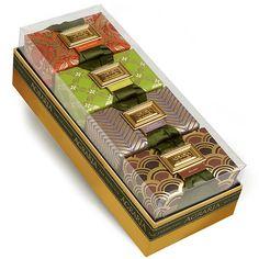 All four of the original Nob Hill fragrances, together in one gift box:  Bitter Orange, Lemon Verbena, Lavender