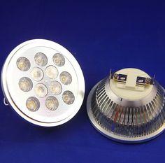 Free shipping AC85-265V AR111 G53 GU10 12W LED Spotlight 2 years warranty 12X1W LED Lamps #Affiliate