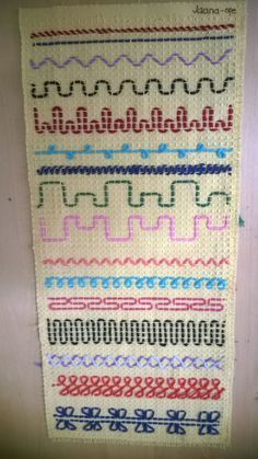 Pujottelumalleja Cross Stitching, Cross Stitch Embroidery, Embroidery Patterns, Swedish Weaving Patterns, Swedish Embroidery, Monks Cloth, Knitting For Charity, Weaving Textiles, Sewing For Kids