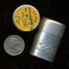 Old school Kodak film tins!