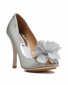 7588372b53b0 Aubrey Petal Peep-toe Pump Bridal Party Dresses
