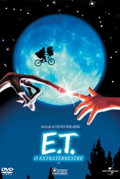el extraterrestre [Vídeo] = E. The extra-terrestrial / una película de Steven Spielberg ; produced by Steven Spielberg & Kathleen Kennedy ; music by John Williams Films Cinema, Cinema Tv, See Movie, Movie Tv, Movie Theater, Movies Showing, Movies And Tv Shows, Film Mythique, Best Halloween Movies