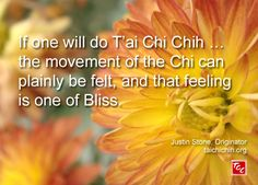 Quote by Justin Stone, Originator of the moving meditation T'ai Chi Chih: Find more info at www.taichichih.org Justin Stone, Qigong Meditation, Stone Quotes, New Teachers, True Nature, Self Improvement, Martial Arts, Insight, Peace