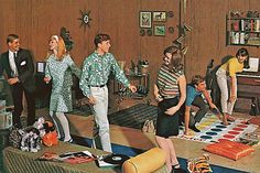 1960s Twister party
