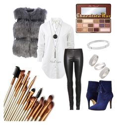 """""""Untitled #17"""" by flymommy on Polyvore featuring rag & bone, The Row, GUESS, Michael Kors, Topshop, Too Faced Cosmetics, women's clothing, women, female and woman"""