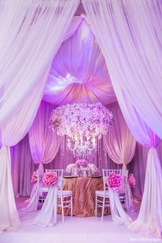 floral chandelier. #wedding #party #reception #decor #mariage #luxe #luxury