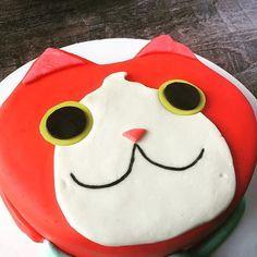 Jabanyan Yokai Watch Cake #cakestagram #yokaiwatch #fondant #meow #sugarart #getyourcakeon