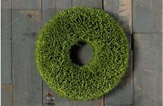 Faux Grass Wreath - decor steals {one decor deal a day}~Enjoy Today's Steal from DECOR STEALS
