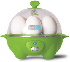 Dash DEC005GR GREEN 6 Egg Rapid Cooker w/ Poaching Tray