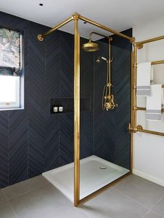 Designed by Drummonds' Bathroom Design Service, this townhouse bathroom has a . Designed by Drummonds' Bathroom Design Service, this townhouse bathroom has a sophisticated urban Large Bathrooms, Modern Bathroom, Small Bathroom, White Bathrooms, Luxury Bathrooms, Shower Bathroom, Bathroom Mirrors, Bathroom Ideas, Bathroom Cabinets