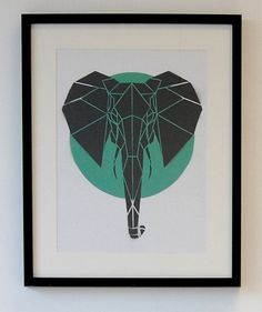 geometric art canvas - Google Search