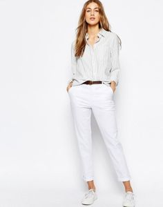 Летние женские брюки (108 фото): с чем носить, легкие, на резинке, широкие, из хлопка, белые, цветные, модные образы и луки 2017