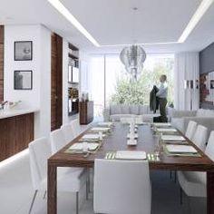 TREVINO CHABRAND Taller de Arquitectura: Comedores de estilo moderno por TREVINO.CHABRAND / Taller de Arquitectura