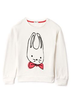 Bow-Tie Bunny Sweatshirt (Kids) - New Arrivals - Sweatshirts & Knits - 2000076052 - Forever 21 UK