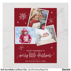 Put those beautiful wedding photos to use and send your loved ones personalized Photo newlywed Christmas cards. Choose from thousands of designs and styles at Zazzle! Christmas Photo Cards, Christmas Pictures, Holiday Cards, Holiday Gifts, Red Gifts, Snowflake Photos, Snowflakes, Holiday Postcards, Holiday Photos