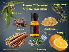 Forever™ Essential Oils Defense - 100% Pure. 100% Strong. Order at www.nina49.flp.com
