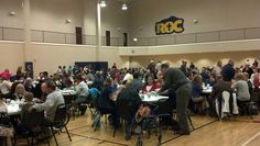 The annual Thanksgiving Dinner celebration at Wake Cross Roads Baptist Church in Raleigh, NC.