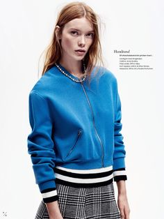 visual optimism; fashion editorials, shows, campaigns & more!: julia hafstrom by honer akrawi for elle sweden january 2015