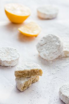 Meyer Lemon Meltaways YIELD: about 3 dozen PREP TIME: 1 hour 10 minutes COOK TIME: 13 minutes TOTAL TIME: 1 hour 23 minutes INGREDIENTS: 1 1/2 sticks (3/4 cup) unsalted butter, room temperature 1 cup of confectioner's sugar, divided zest of 3 Meyer lemons (about 1 1/2 tablespoons) 3 tablespoons fresh Meyer lemon juice 1 tablespoon pure vanilla extract 1 3/4 cup + 2 tablespoons all-purpose flour 2 tablespoons corn starch 1/4 teaspoon kosher salt