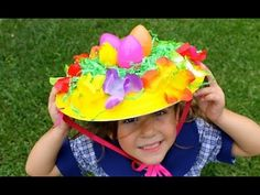 How to make an easy Easter bonnet. If your child loves craft and hats, then this Easter hat parade hat idea is for you. The Easiest Easter bonnet is what we call the everything but the kitchen sink Easter hat. You simply get the kids to decorate the