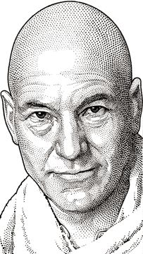 Wall Street Journal hedcut of Patrick Stewart – Randy Glass Studio News & Blog
