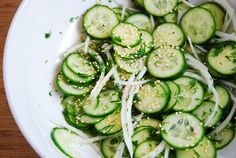 Japanese Cucumber Salad Recipe – 1 Points   - LaaLoosh