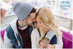 Megan + Zach | Fryeburg Fair Engagement Session, Fryeburg Maine » Darling Photography