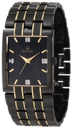 Bulova Men's 98D004 Diamond Dial Watch « Clothing Adds for your desire