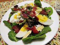 Cobb Salad (minus the blue cheese crumbles)
