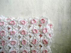 flower baby blanket ~