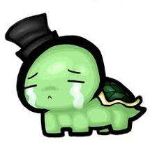 Kawaii Turtle, Cute Turtles, Animal Drawings, Zentangle, Funny, Fictional Characters, Journal, Manga, Google Search
