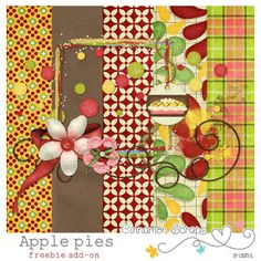 Monday's Guest Freebies ~ Cinnamon Scraps ✿ Follow the Free Digital Scrapbook board for daily freebies: https://www.pinterest.com/sherylcsjohnson/free-digital-scrapbook/ ✿ Visit GrannyEnchanted.Com for thousands of digital scrapbook freebies. ✿