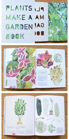 Lotte Dirks / Illustration & book design – Plants Make a Garden