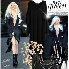 759. Celebrity Style Lady Gaga Outfit Idea 2017
